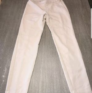 lilly pulitzer pants cream pants size 6